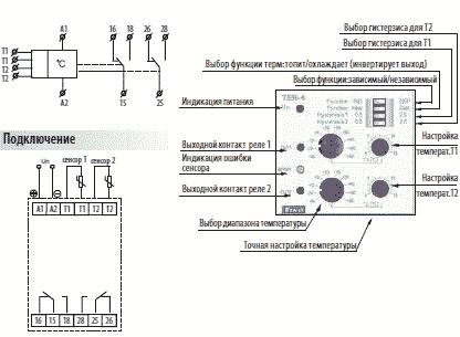 Терморегулятор TER внешний вид