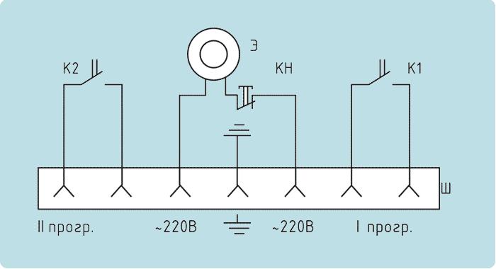 Принципиальная схема топливной системы