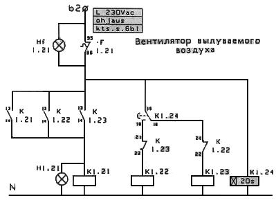 Схема подключения электродвигателя в треугольник