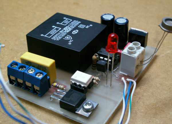 Монтаж сумеречного выключателя