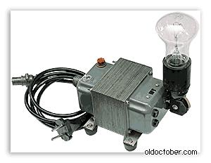 импульсный блок питания из энергосберегающей лампы